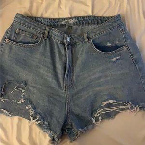 Wild fable high waist shorts
